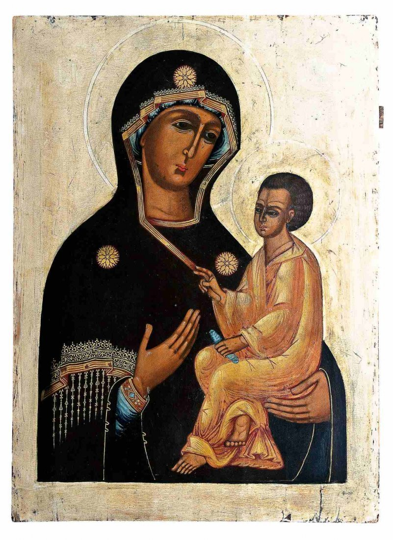 24: Monumentale Ikone mit der Gottesmutter Tichwinskaja