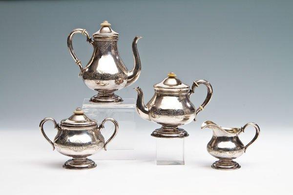 429: Vierteiliges Tee- und Kaffeeservice