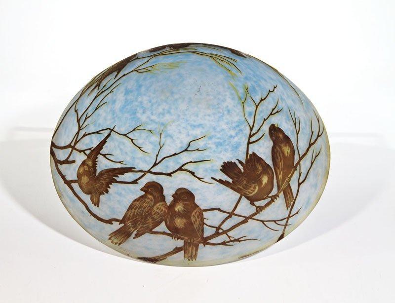 Lampenschirm mit Vögel