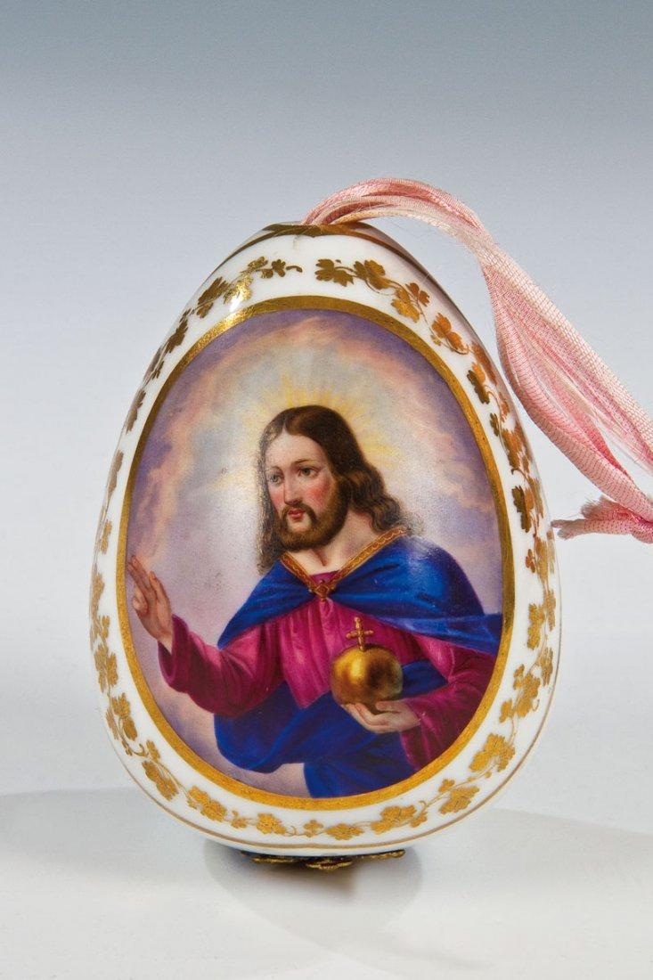 Osterei mit Christus