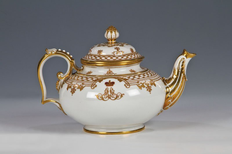 Teekanne aus dem Service für den Zarewitsch Alexander A