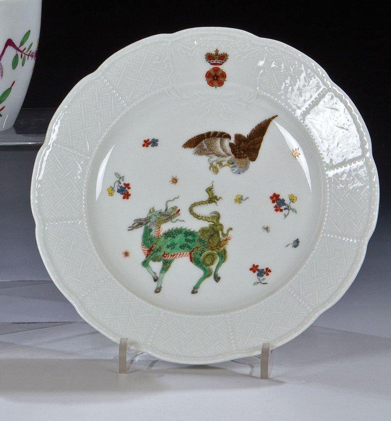 Kleiner Teller mit ostasiatischem Dekor