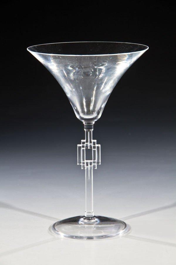 Set aus 12 Champagnerschalen ''Hagueneau''