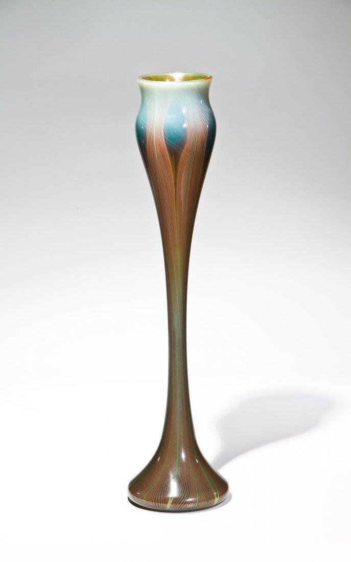 Sehr bedeutende und seltene Intercalaire - Vase mit