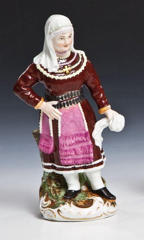 Porzellanfigur aus der Serie ''Völker Russlands''