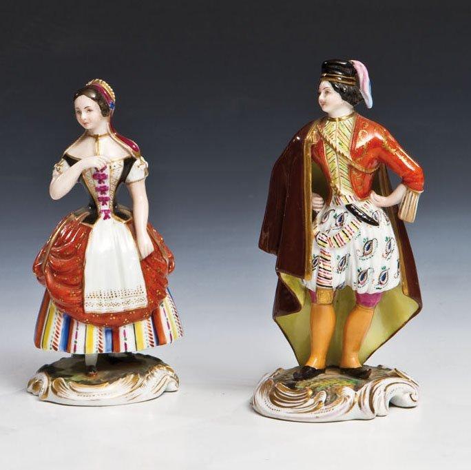 Paar Porzellanfiguren