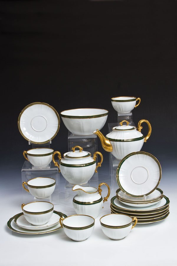 22-teiliges Teeservice