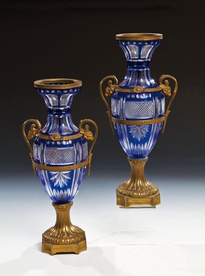 Großes Vasenpaar
