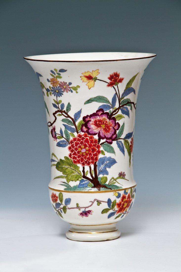 Seltene und bedeutende Augustus Rex - Vase mit