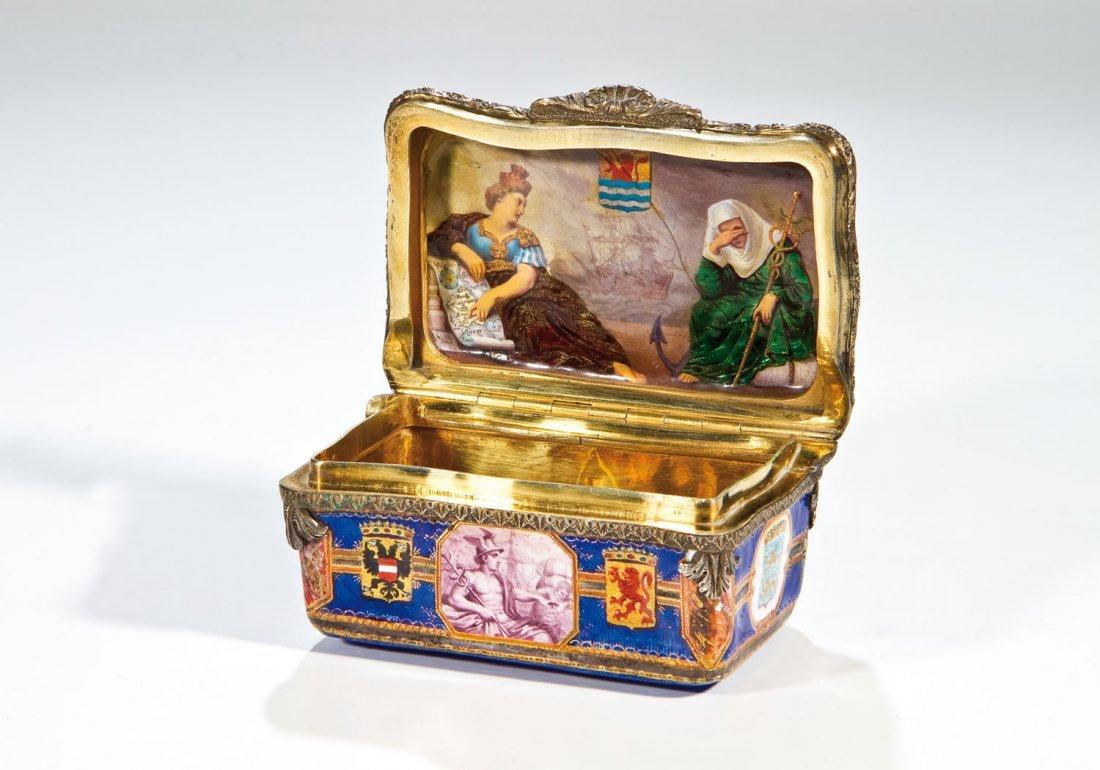 Bedeutende Schnupftabak-Dose aus königlichem Besitz