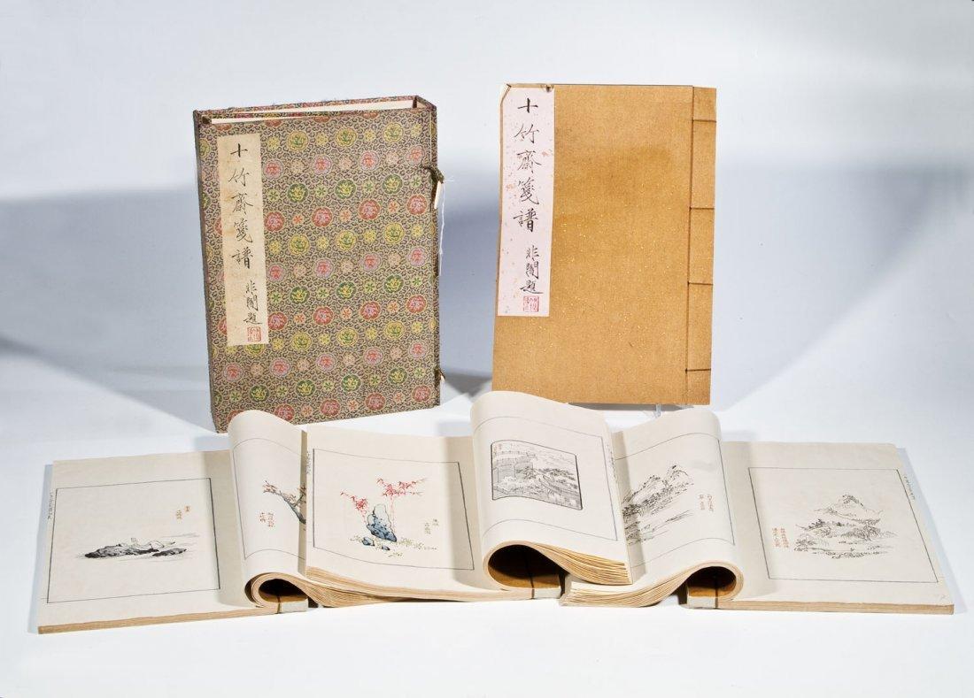 Vier Malereihandbücher ''Schriften und Bilder der