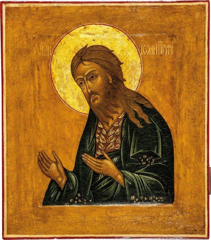 Johannes der Vorläufer aus einer Deesis mit