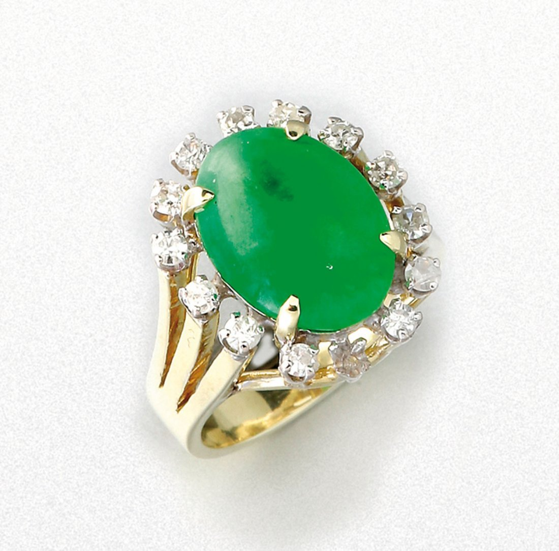 Jadeit Ring