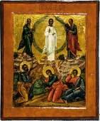 Feine Ikone mit der Verklrung Christi