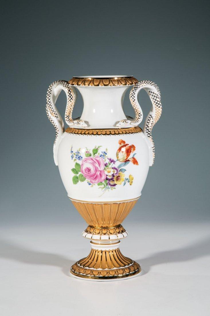 Schlangenhenkel - Vase
