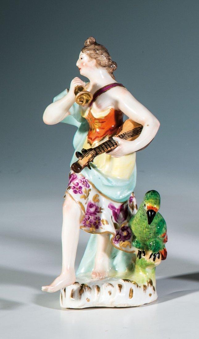 Antikisierende weibliche Figur als Allegorie