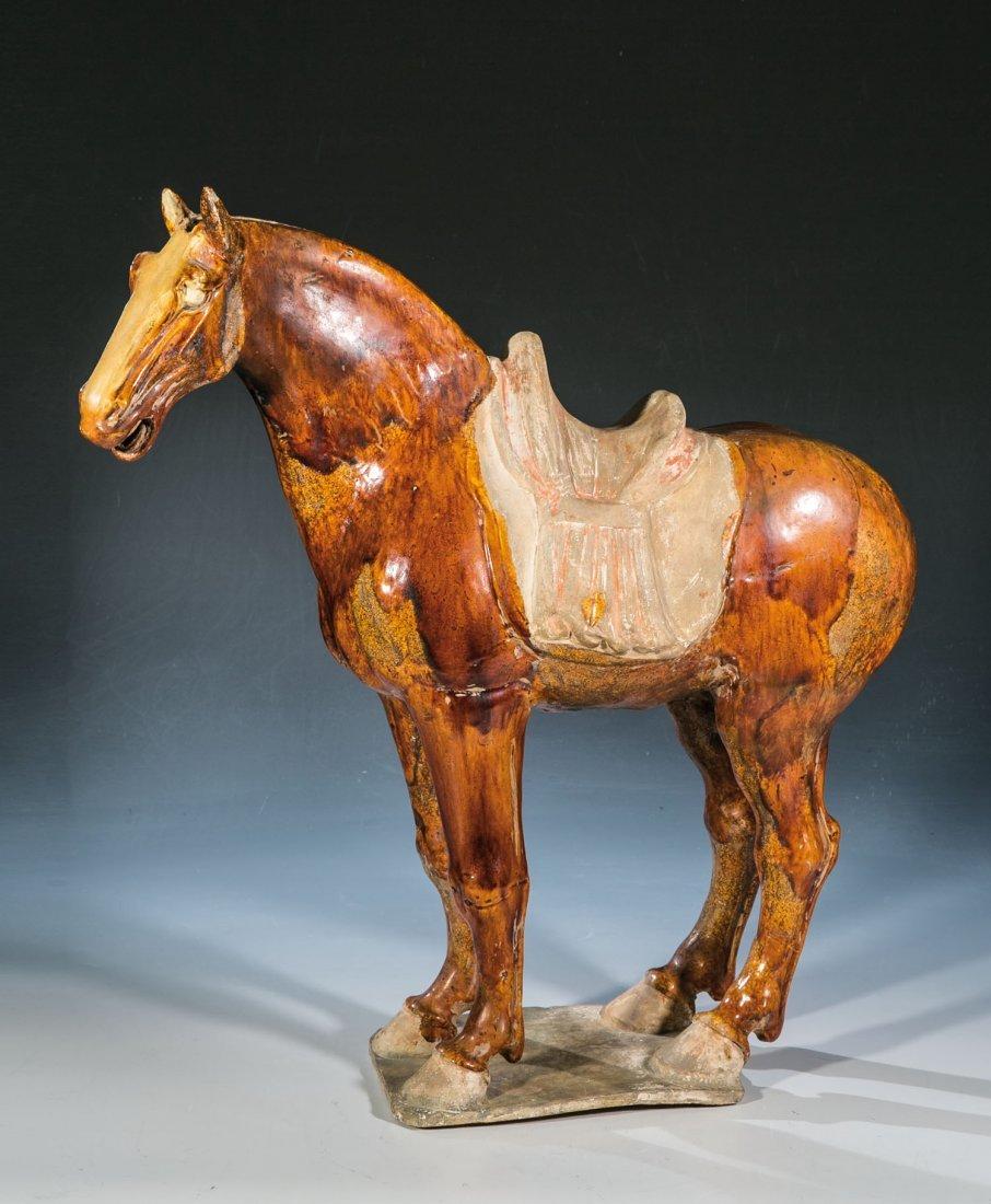 Bedeutende Figur eines Pferdes
