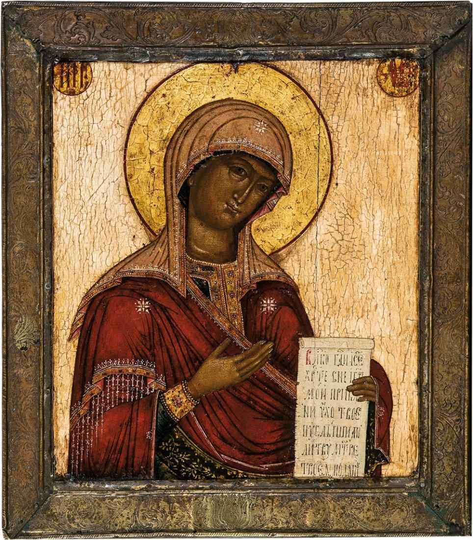 Gottesmutter aus Deesis