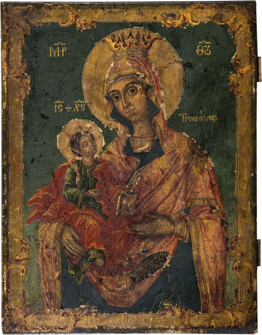 Gottesmutter Tricheirousa (dreihändige Gottesmutter)