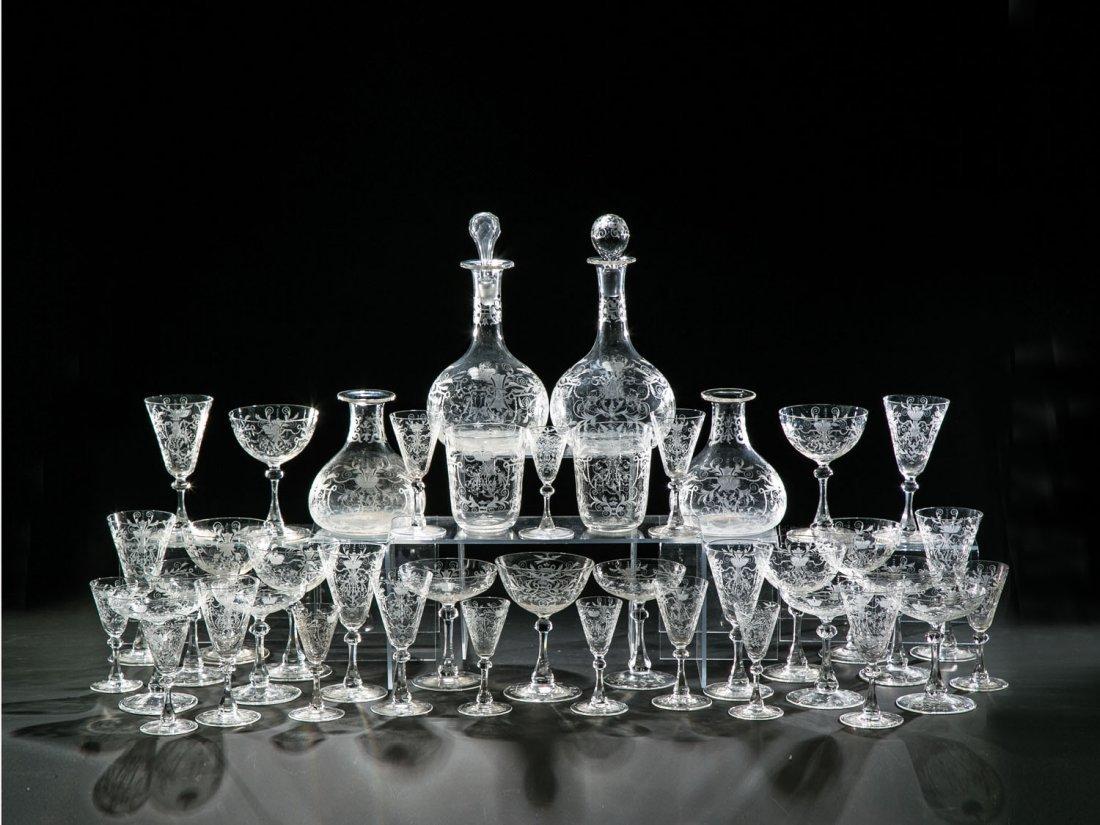 41-teiliges Trinkservice aus dem Besitz des Großfürsten