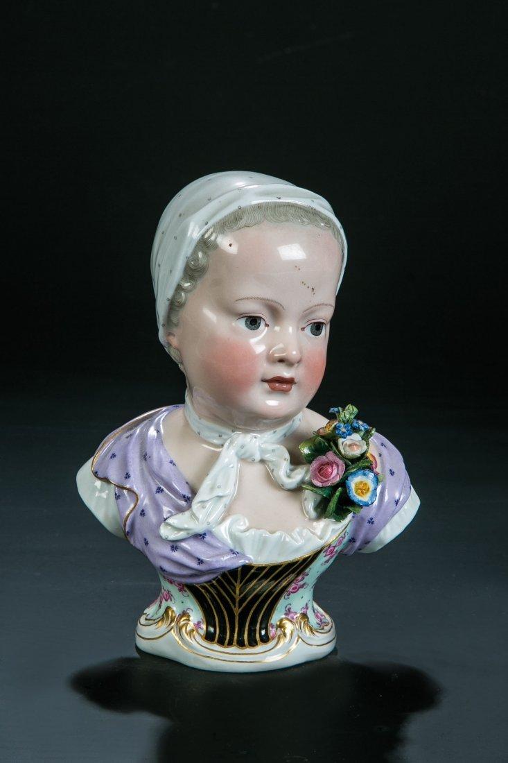Kinderbüste der Prinzessin Marie Zephyrine de Bourbon