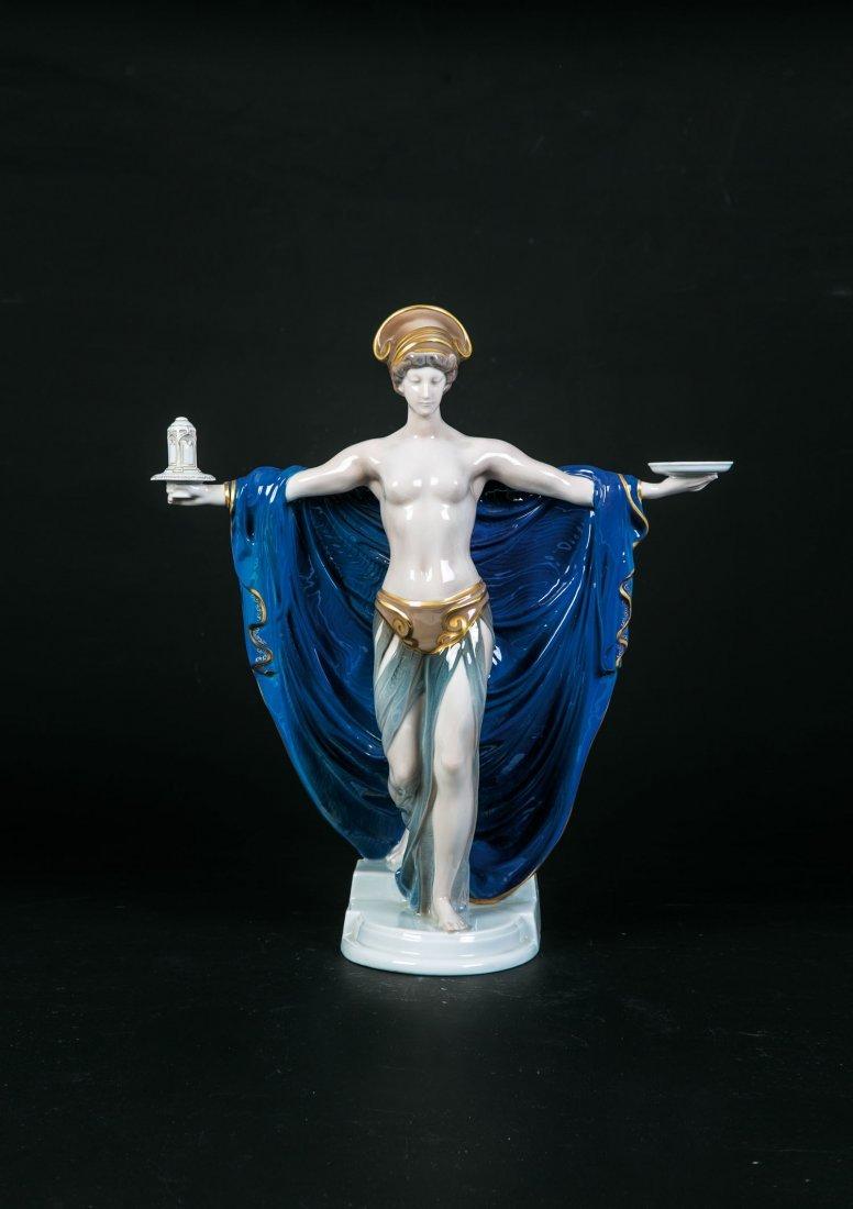 Seltene Figur ''Tempelweihe''