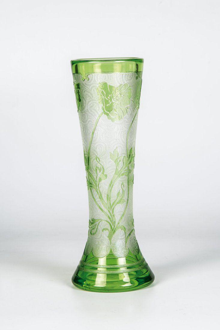 Vase mit Mohn