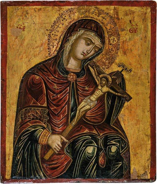 Gottesmutter Achtyrskaja (von Achtyrka)