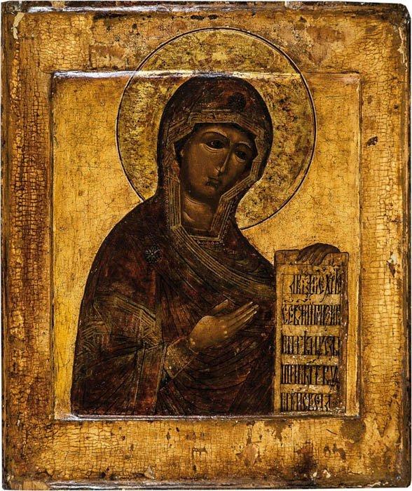 Die fürbittende Gottesmutter aus einer Deesis