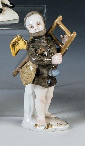 Cupido als Schornsteinfeger