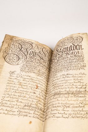 Urkunde Auf Pergament