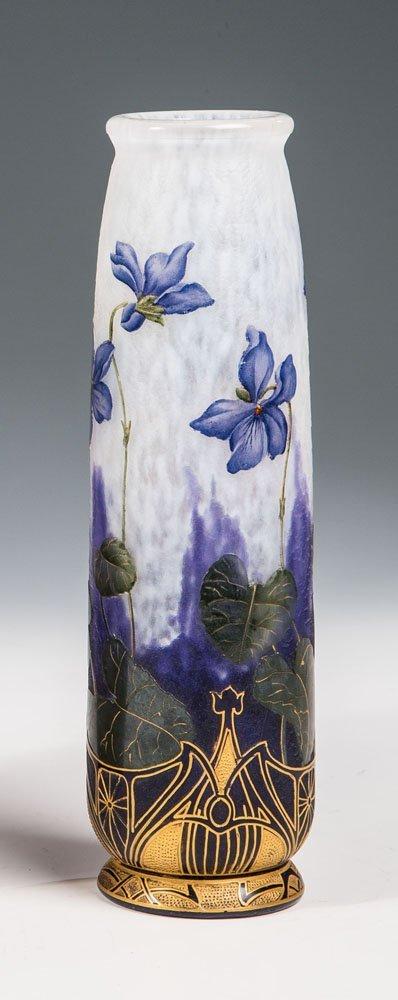 Vase mit Veilchen