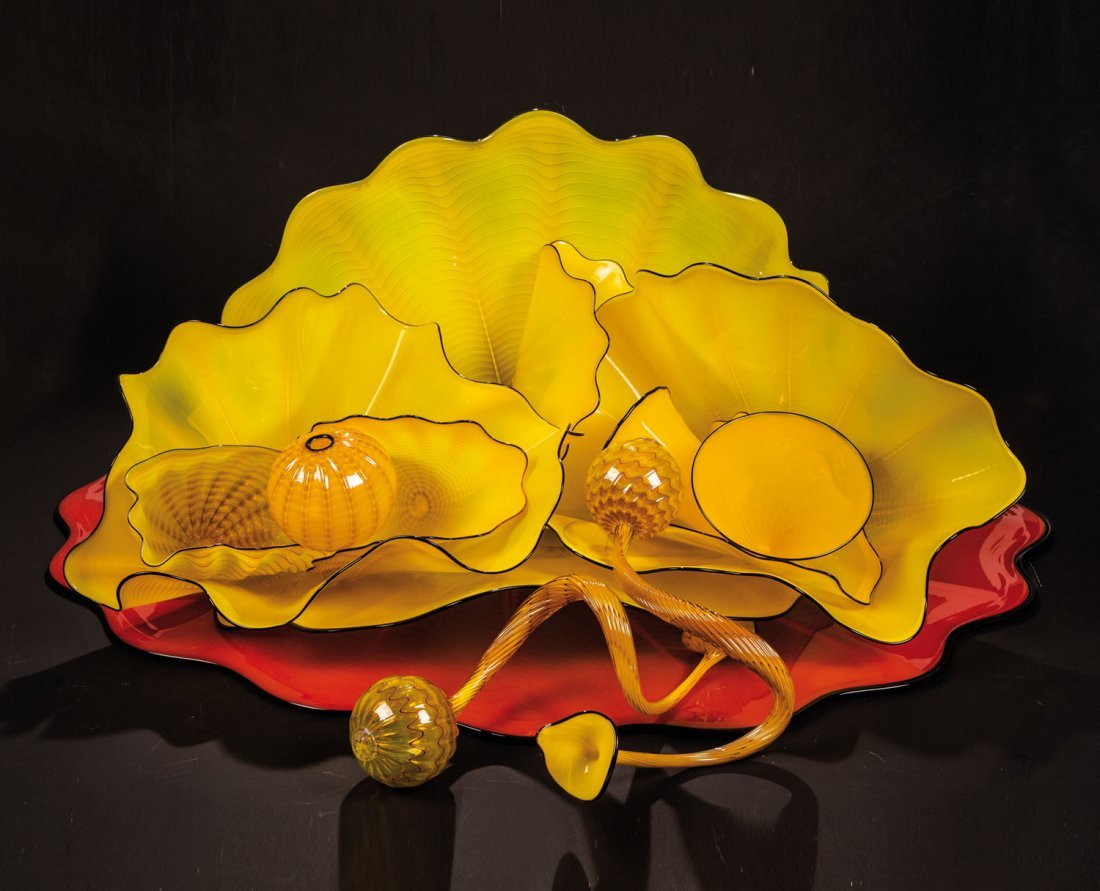 ''Mars Red a Sun Yellow Persian Set''