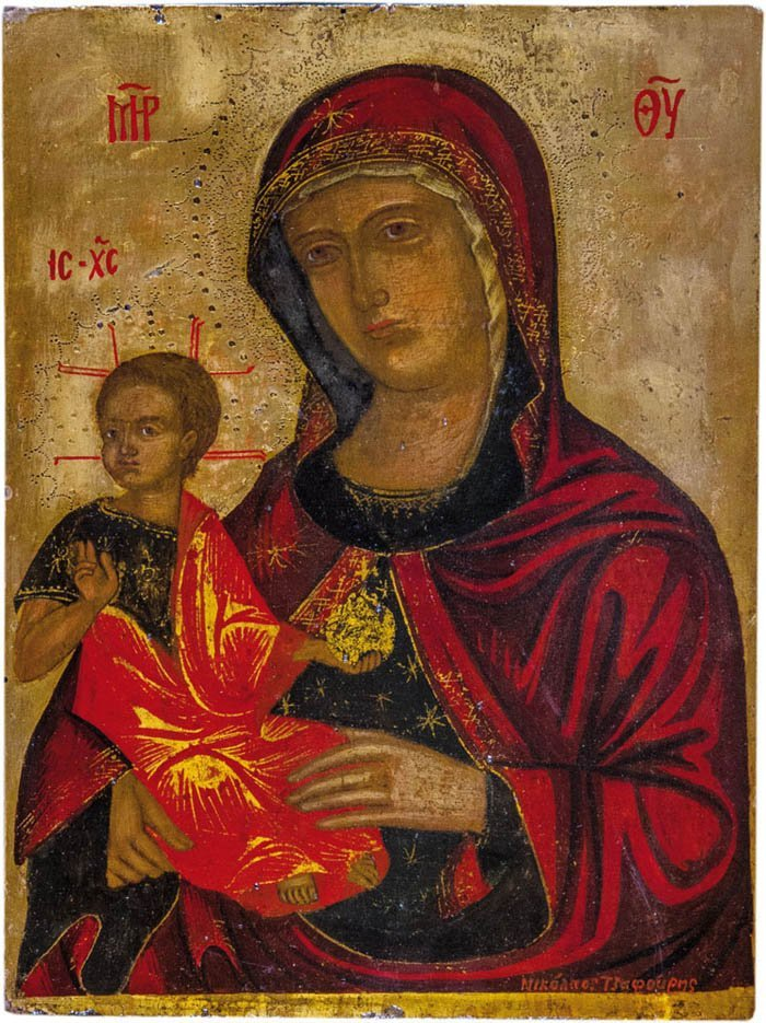 Bedeutende Ikone Madre della Consolazione
