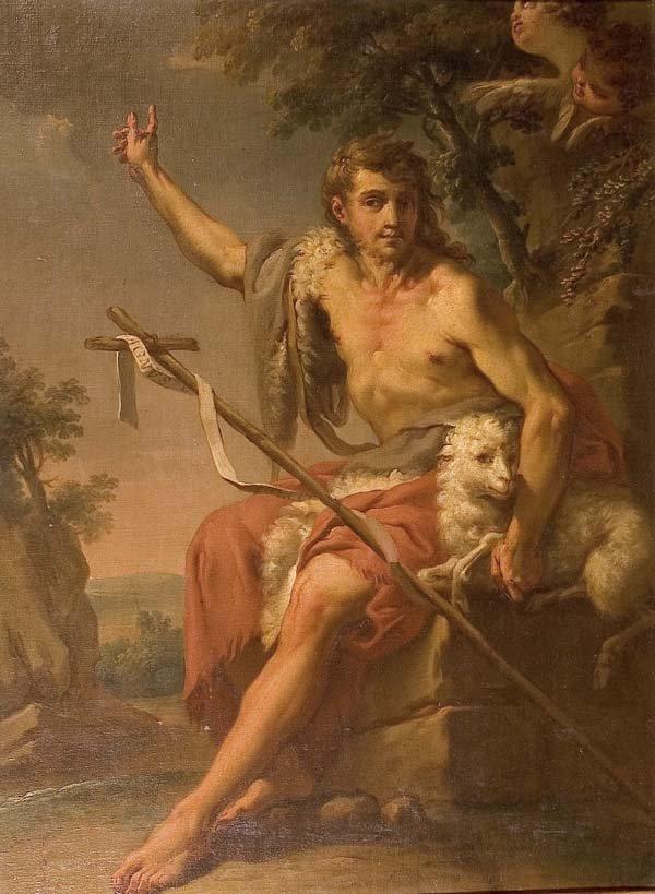 579: Heiligenmaler-Wohl Italien, 18. Jh.
