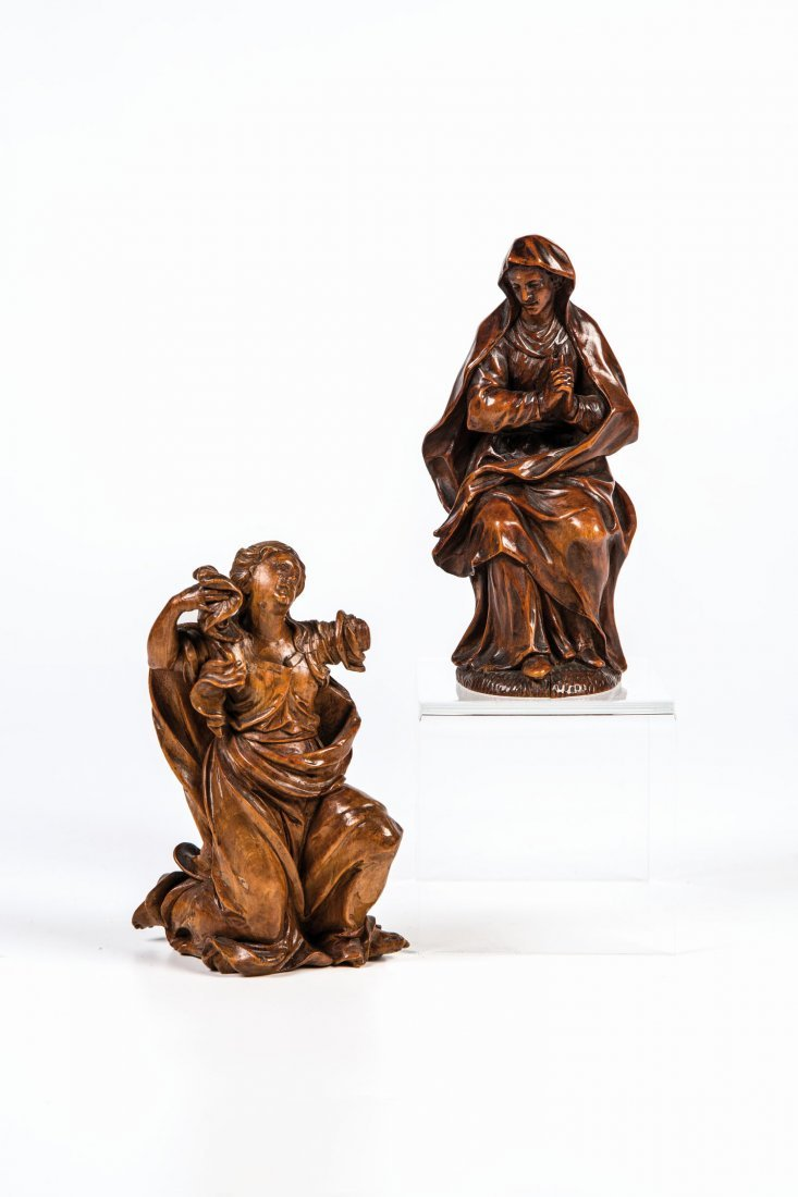 Die Heiligen Maria und Maria Magdalena