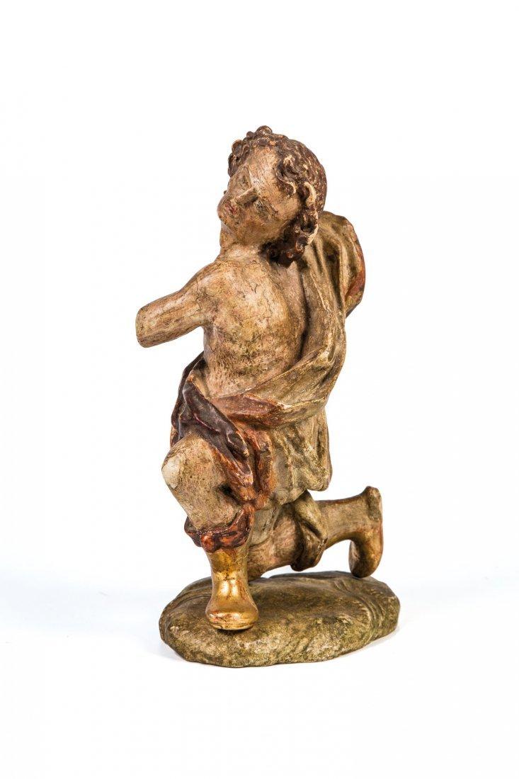 Statuette eines knieenden Kriegers