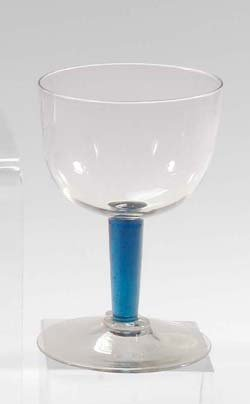 23: Seltener kleiner Pokal-rare small glass cup