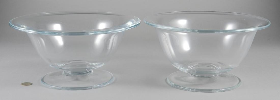 "2 William Yeoward Crystal ""Alice"" Bowls"