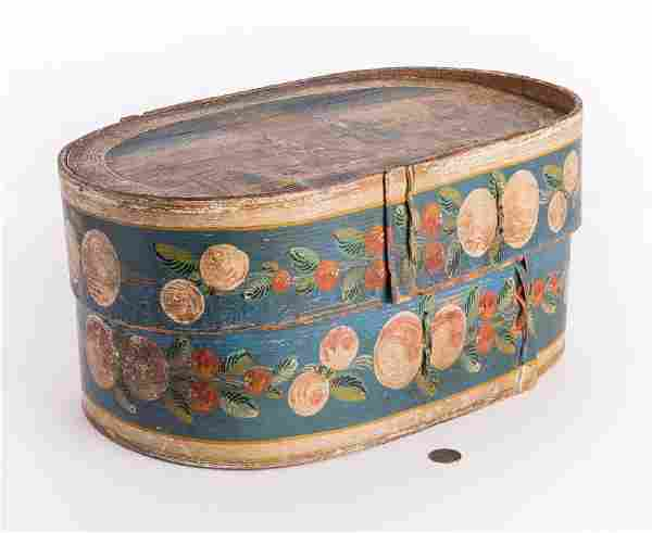 European Folk Art Bride's Box