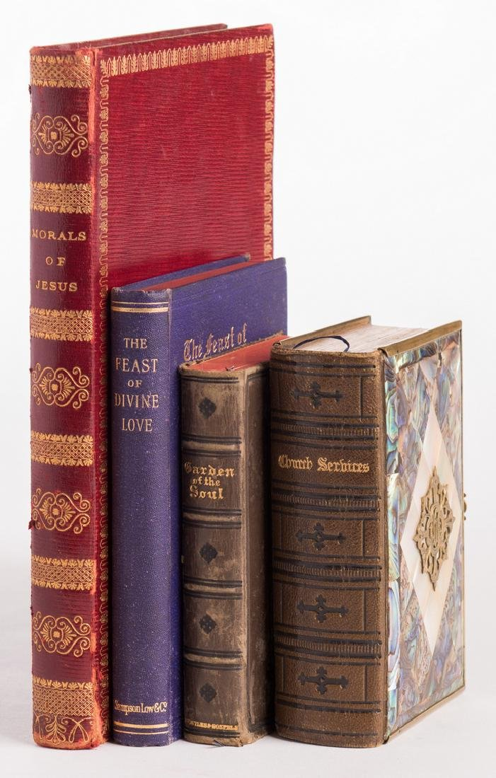 4 Religious Themed Books