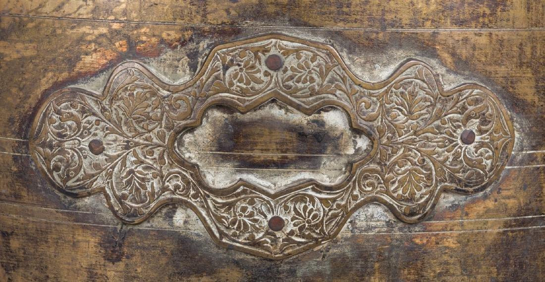 Large Asian Bronze Lidded Storage Vessel, Prob. Chinese - 9