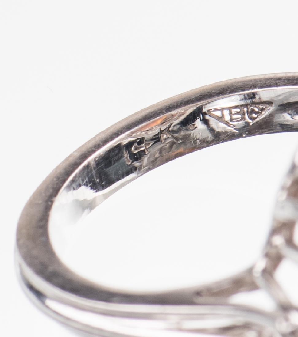 10 ct Lightning Ridge Opal Diamond Ring - 4