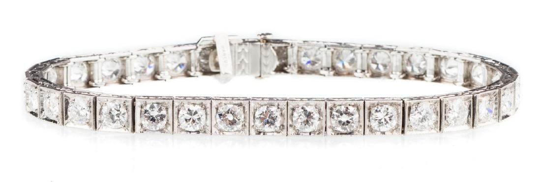 Marcus and Co. Diamond Bracelet, 6.8 cts.