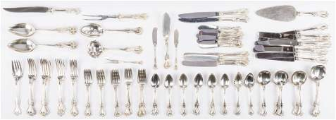 Towle Old Colonial Sterling Flatware, 97 pcs