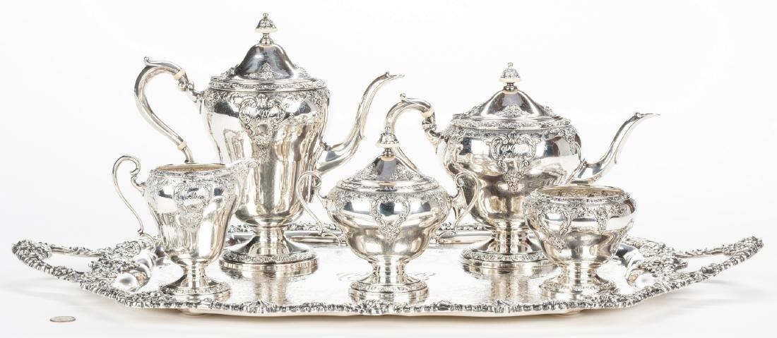 5-Piece Watson Sterling Tea Service & Tray