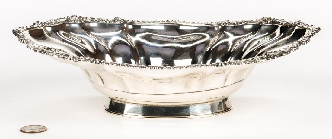 Kirkby, Waterhouse & Co. Sterling Oval Bowl