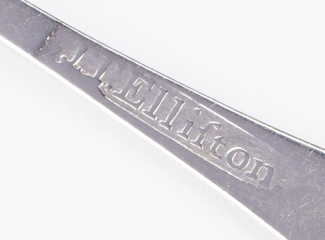 Joseph Elliston Nashville Coin Silver Teaspoon - 4