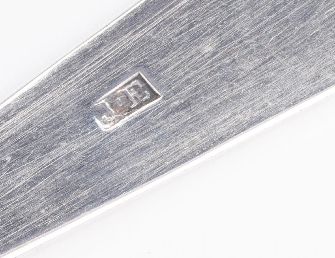 Elliston Coin Silver Tongs - 8