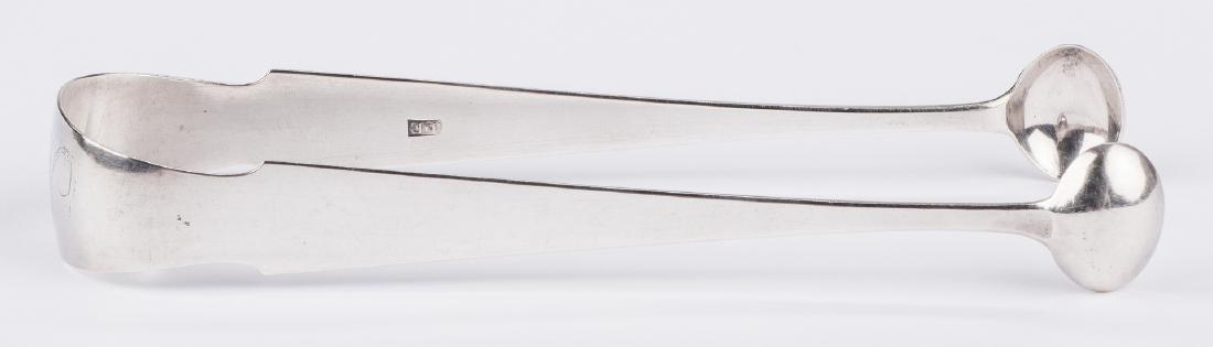 Elliston Coin Silver Tongs - 9